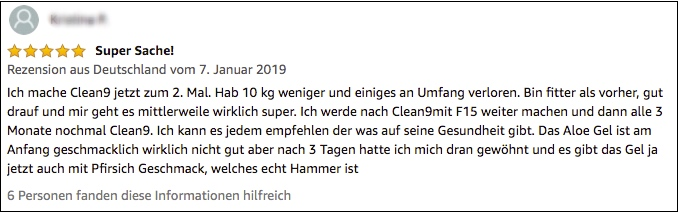 forever clean 9 bewertung