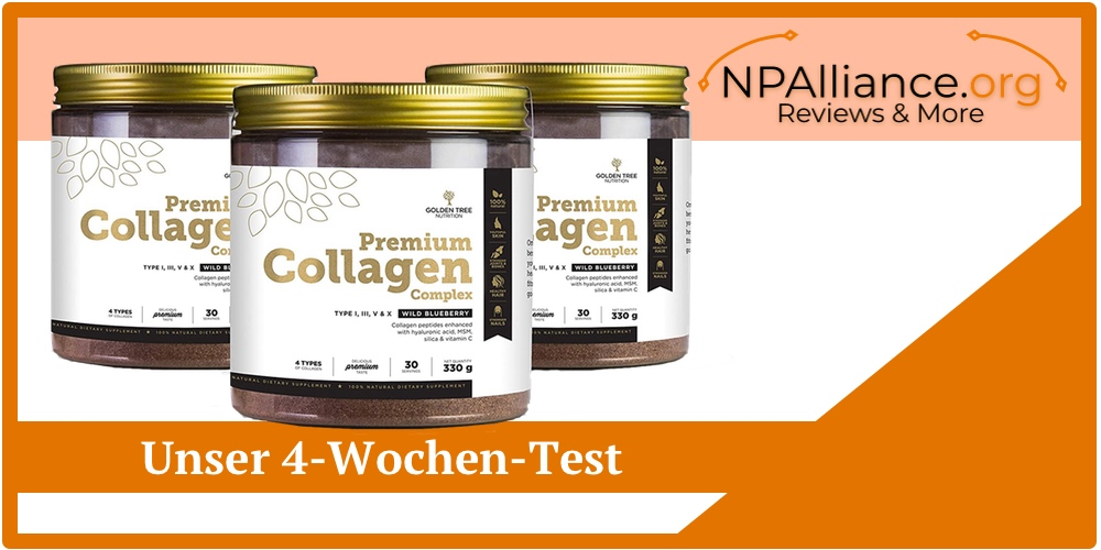 Golden Tree Premium Collagen Complex Erfahrungsbericht