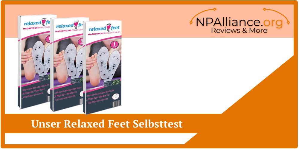 relaxed feet selbsttest