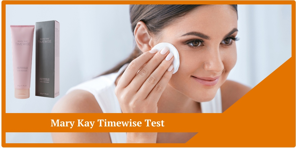 mary kay timewise test 4-in-1- cleanser day cream tagescreme gesichtsreiniger
