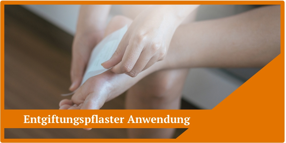 Anleitung Entgiftungspflaster Anwendung