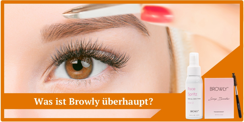 browly brow style augenbrauen set